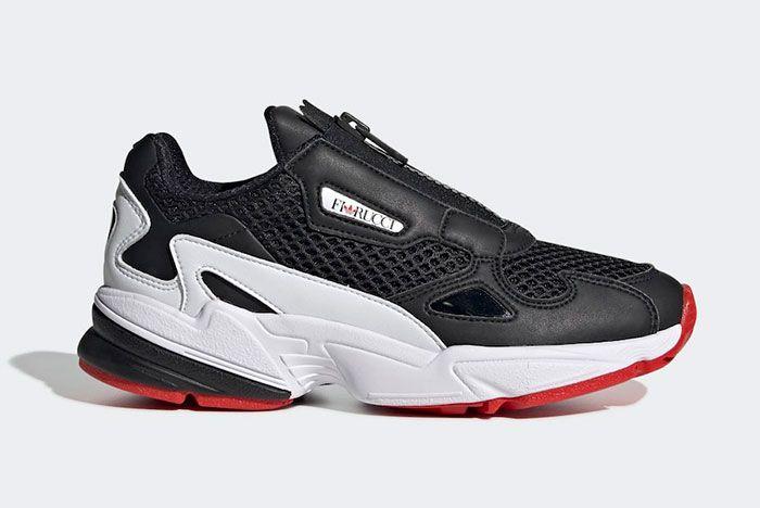 Fiorucci Adidas Falcon Zip Ef3644 Lateral
