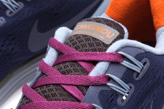 Nike Gyakusou Lunarglide 4 Pack Blackened Blue Details 1