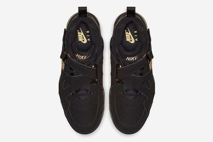 Nike Air Force Max Cb Black Metallic Gold 4