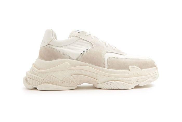 1 Balenciaga Triple S Cream Sneaker Freaker