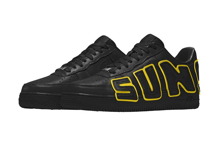 Cactus Plant Flea Market Nike By You Air Force 1 Low Release Date Black