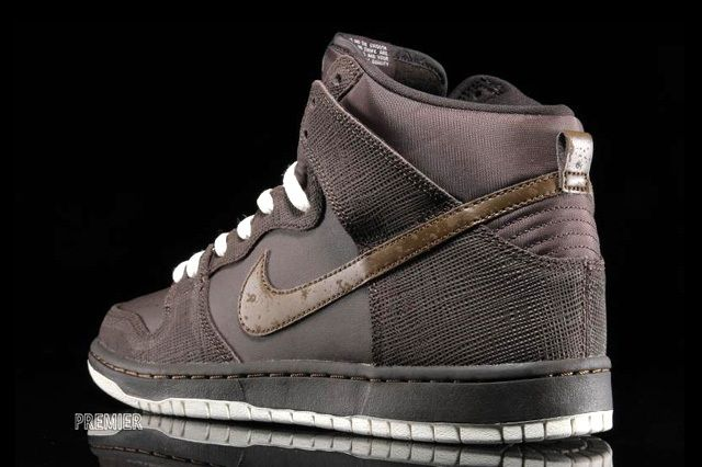 Nikesb Dunk Hi Pro Baroque Brown Dark Khaki 4
