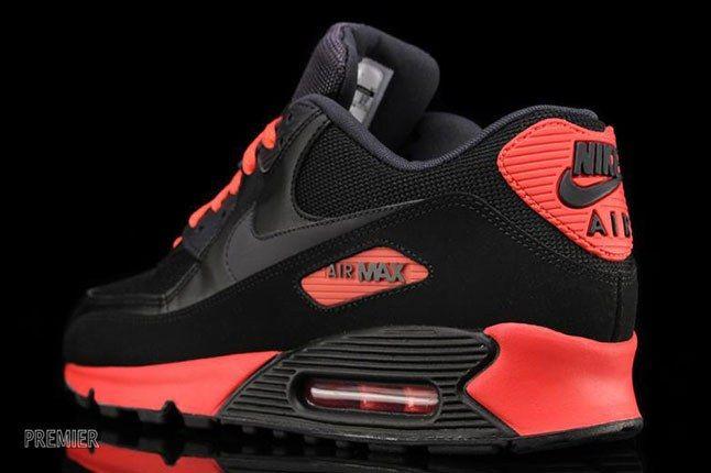 Air Max 90 Black Red 1