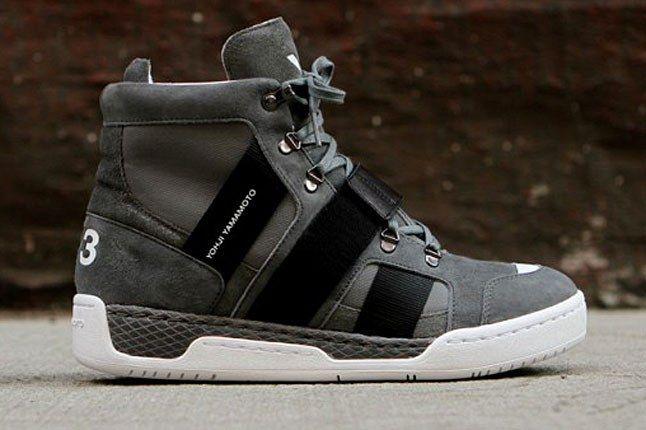 Adidas Y 3 Grey Boot 1