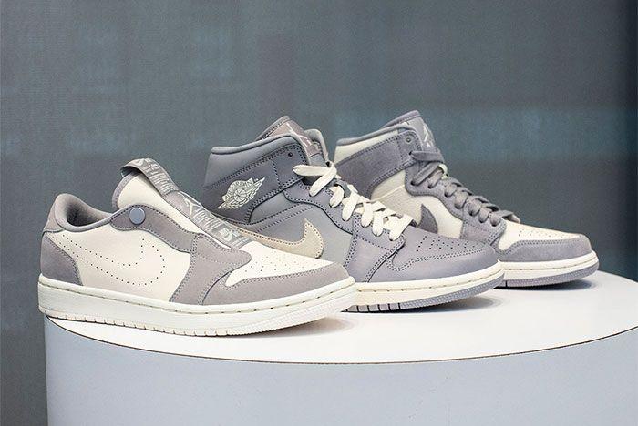 Jordan 1 Lowmid Grey Pack