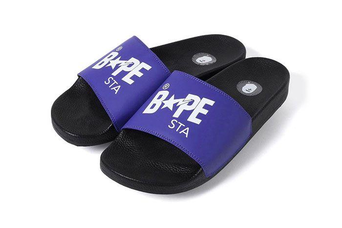 Bape Slide Sandal Sta Purple