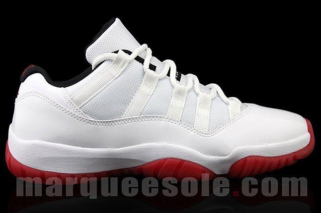 Air Jordan 11 Low Red White 1 1