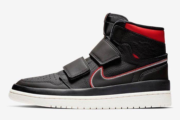 Air Jordan 1 Double Strap Red Black 2
