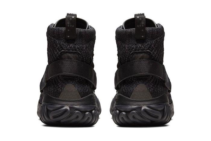 Jordan Apex React Triple Black 487471 100 Release Date Heel
