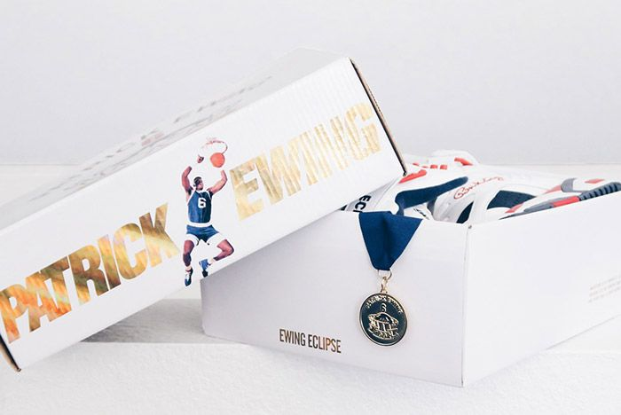 Patric Ewing Eclipse 1992 Olympic Dream Team Black 3