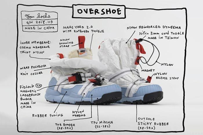 Tom Sachs Nike Craft Mars Yard Overshoe 6