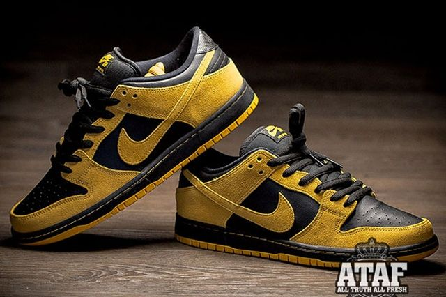 Nike Sb Dunk Low University Gold Black 2