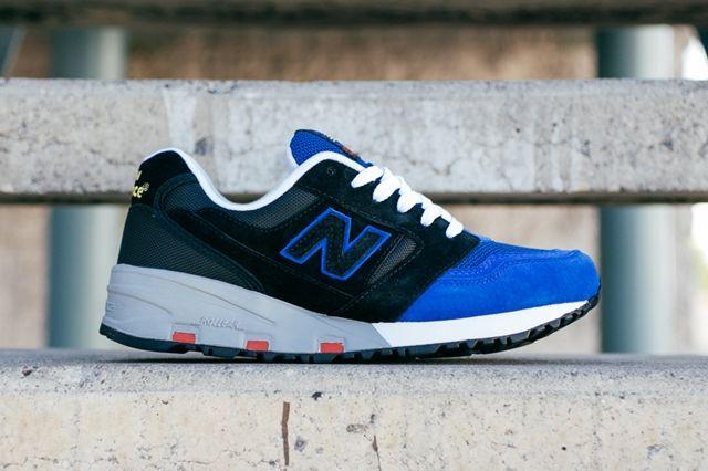 New Balance 575 Blue Black 2