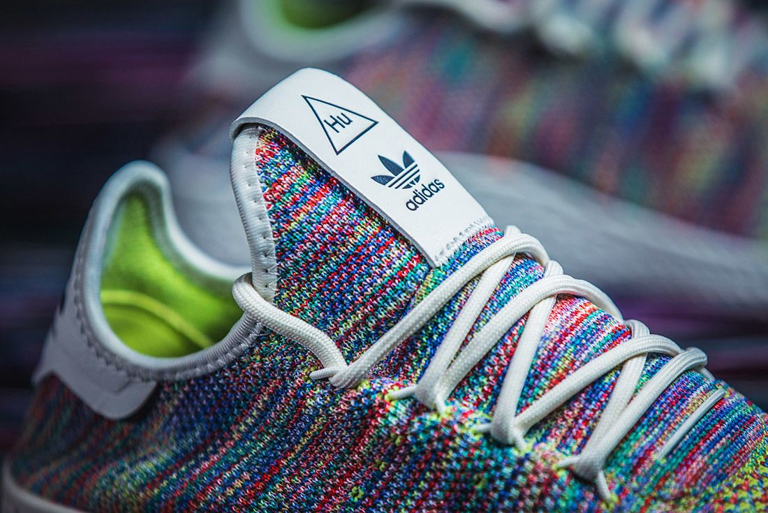 Adidas Pharrell Williams Tennis Hu Rainbow 10