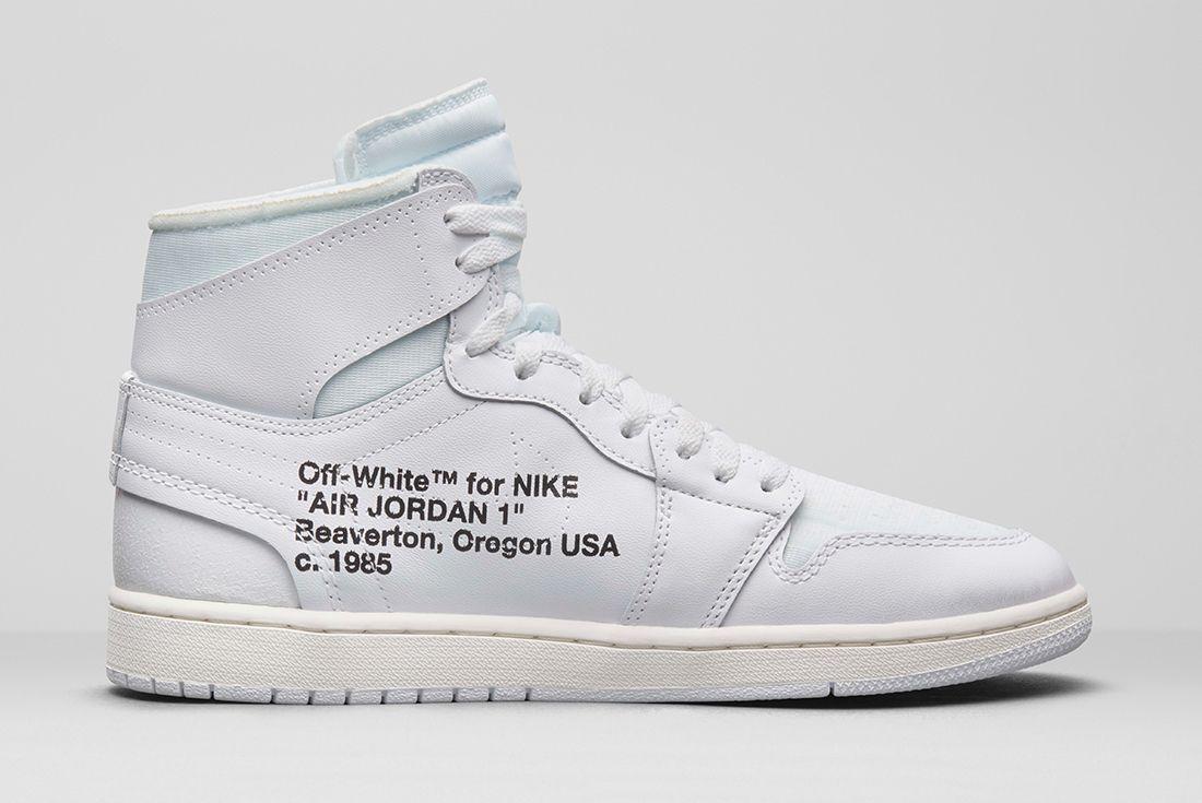 Off-White x Air Jordan 1 'Europe Exclusive'