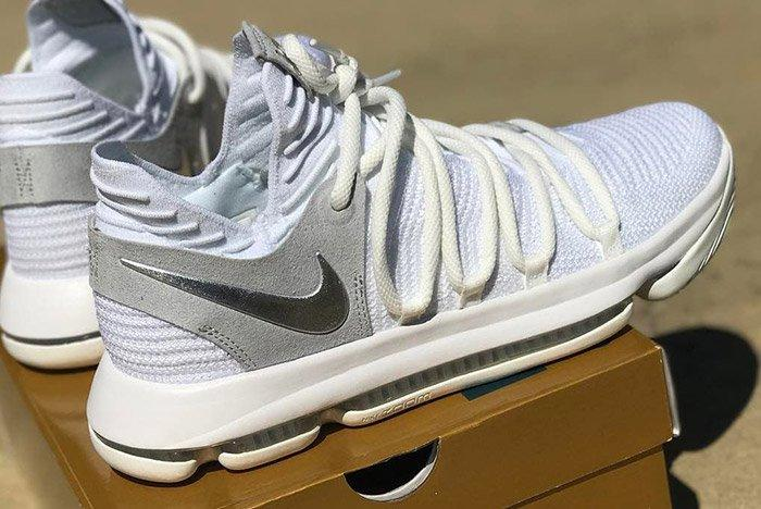 Nike Zoom Kd 10 Pure Platinum 2