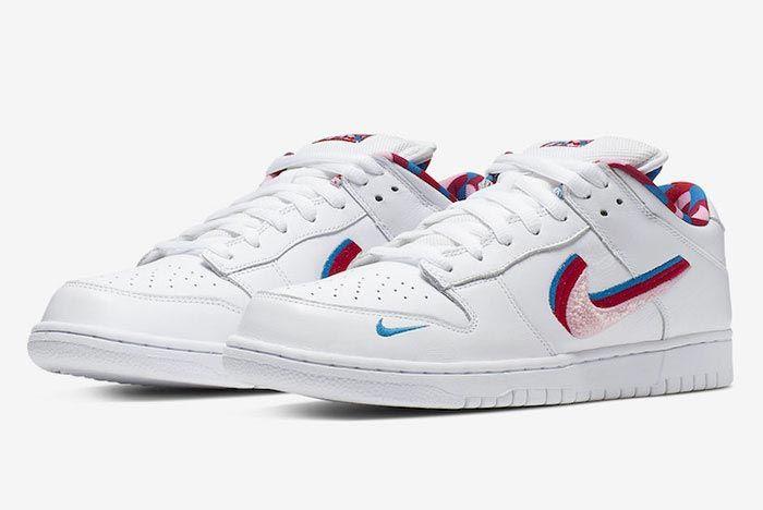 Parra Nike Sb Dunk Low Left