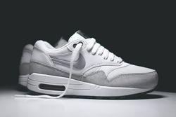 Nike Air Max 1 Wmns White Grey Mist Thumb