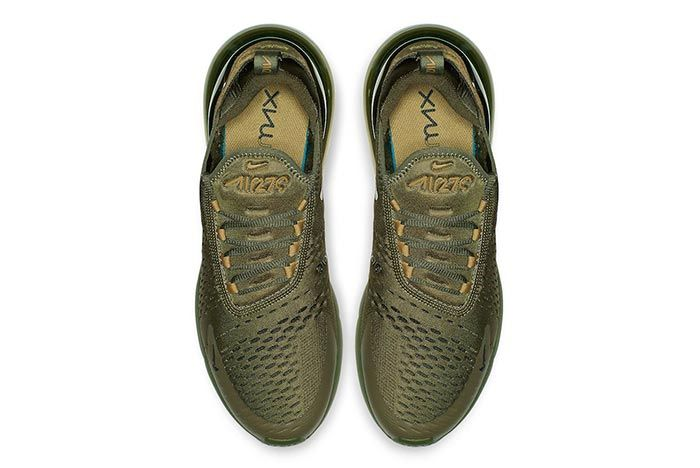 Nike Cover the Air Max 270 in Olive