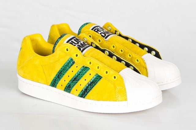 Adidas Ultrstar 80S Yellow Green 4