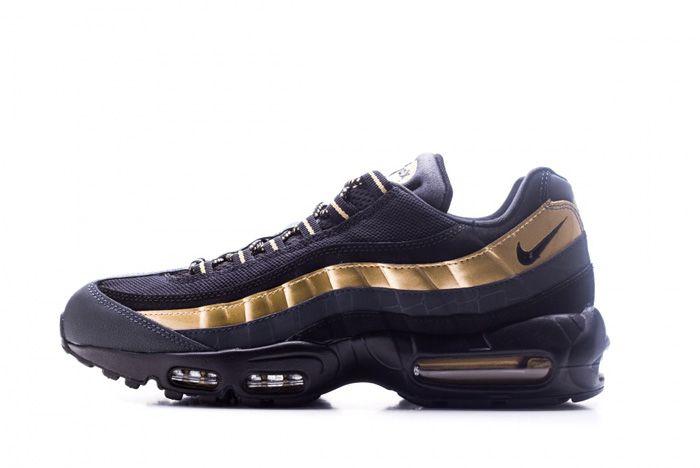 Nike Air Max 95 Premium Black Gold 0