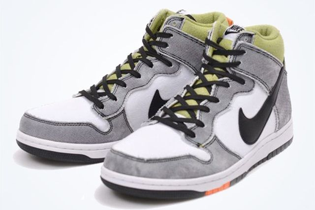Nike Dunk Cmft Wolf Grey Green Orange 4