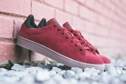 Adidas Stan Smith Vulcanised Burgundy Bumperoo Thumb