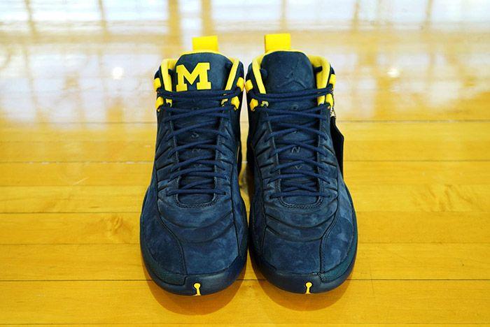 Psny X Michigan Jordan 12 Release Sneaker Freaker
