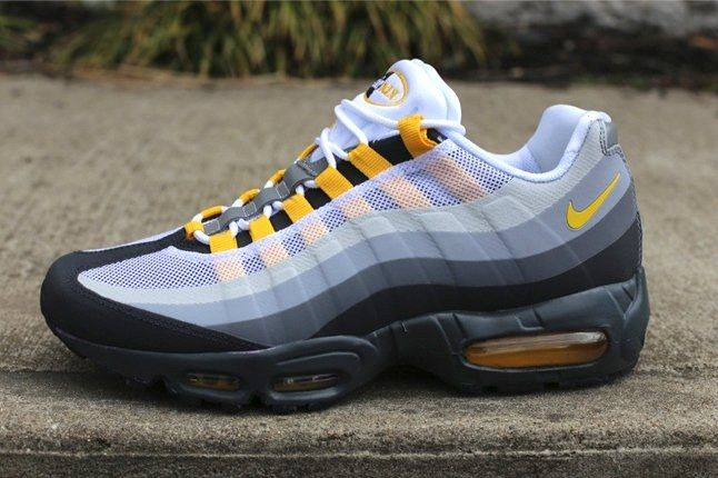 Nike Air Max 95 Nosew Clgrey Varsitymaize Profile 1