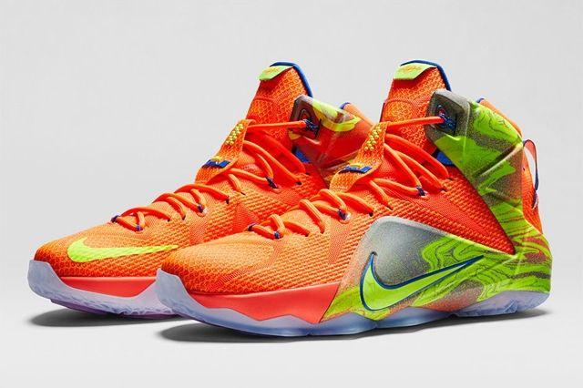Nike Lebron 12 Six Meridians Bump 5