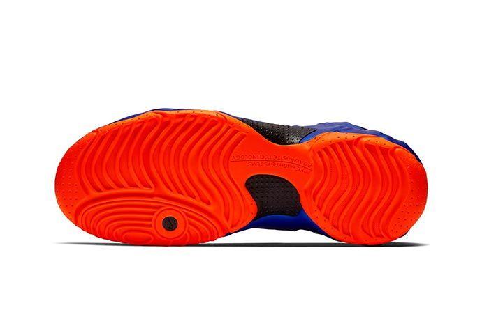 Nike Air Flightposite Knicks Ao9378 401 Sole Shot