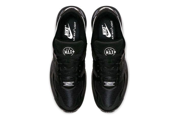 Nike Air Max 2 Light Black Ao1741 001 Top Shot 3