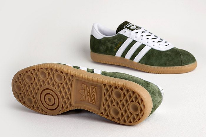 Adidas Athen Forest Green 2