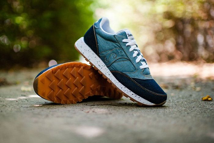 Saucony Jazz Original Denim Gum 2