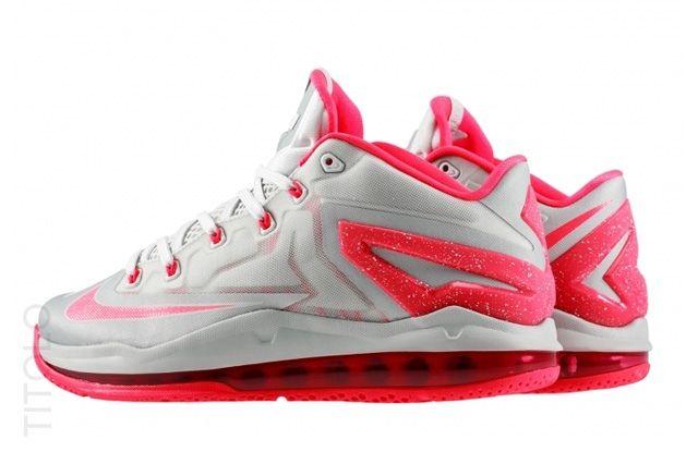 Nike Lebron 11 Low Laser Crimson 2