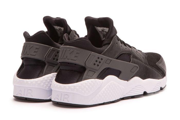 N Nike Air Huarache Run Premium Black 3