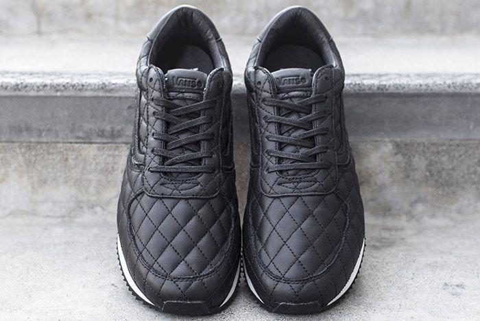 Blends Vans Vault Quilted Leather Runner 5
