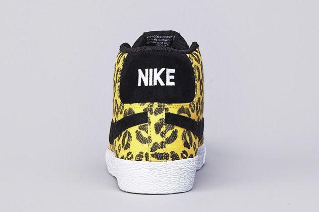 Nike Sb Blazer Midwest Gold Black 3