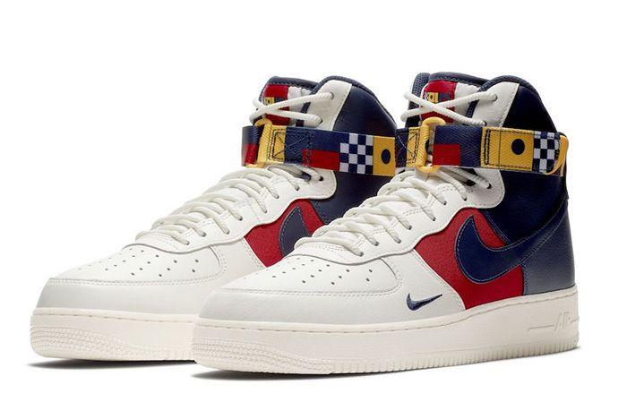 Nike Air Force 1 High Nautical Redux Ar5395 100 Release Date Price Sneaker Freaker