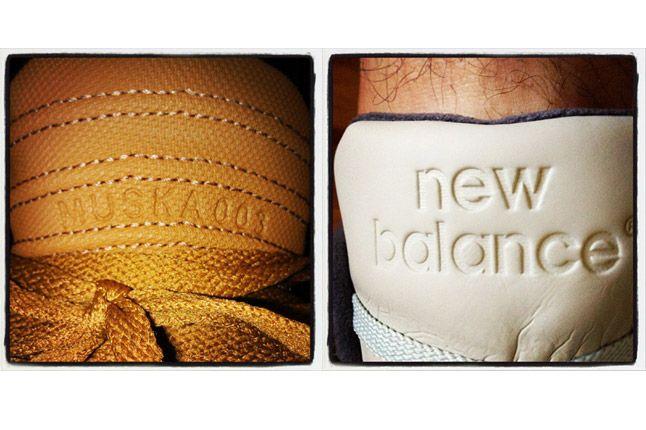 Supra New Balance Sneaker Logos 1