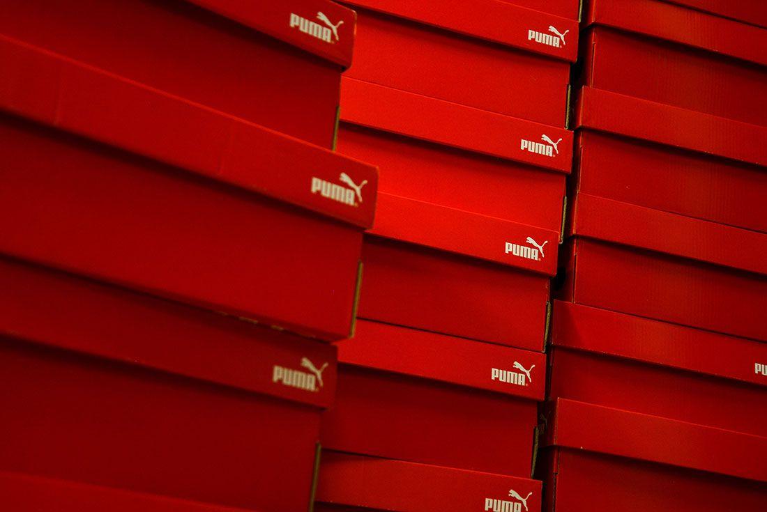 PUMA Shoeboxes
