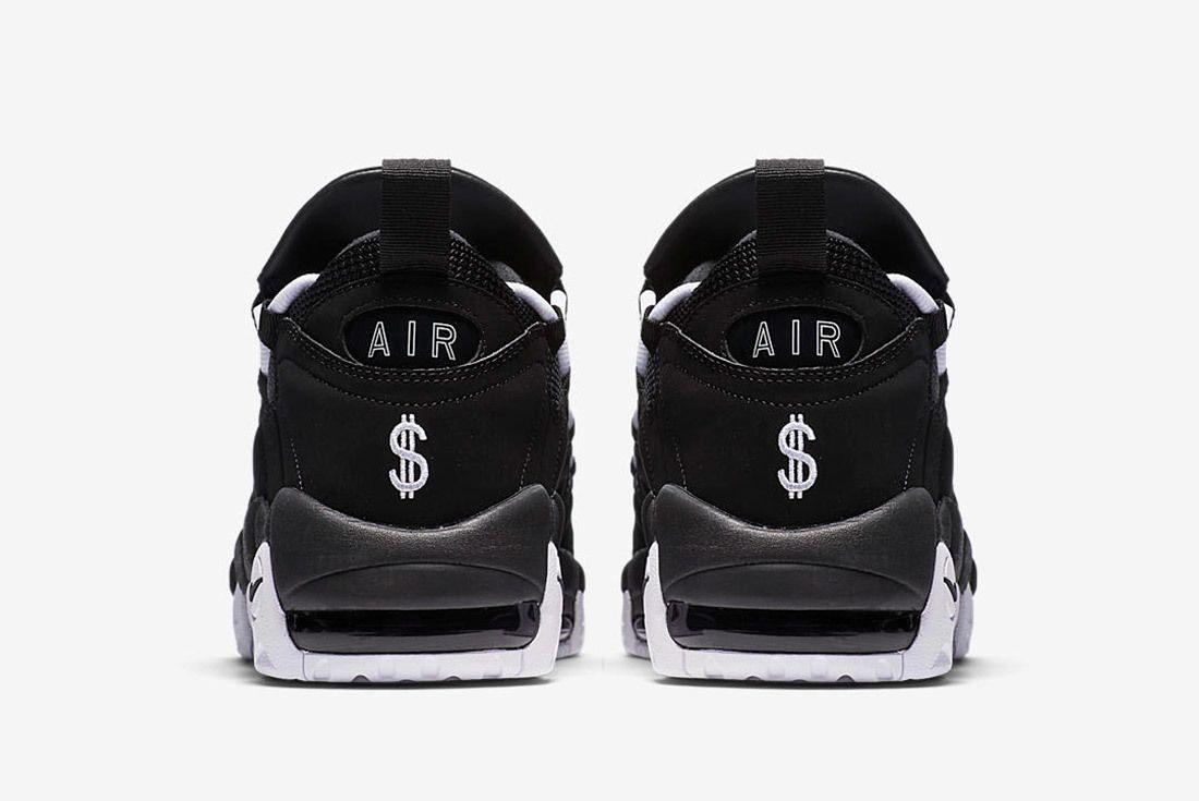 Nike Air More Money Black White 4