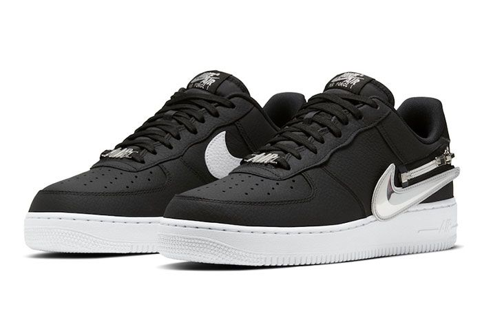 Nike Air Force 1 Zip On Swoosh Logo Release Date Official