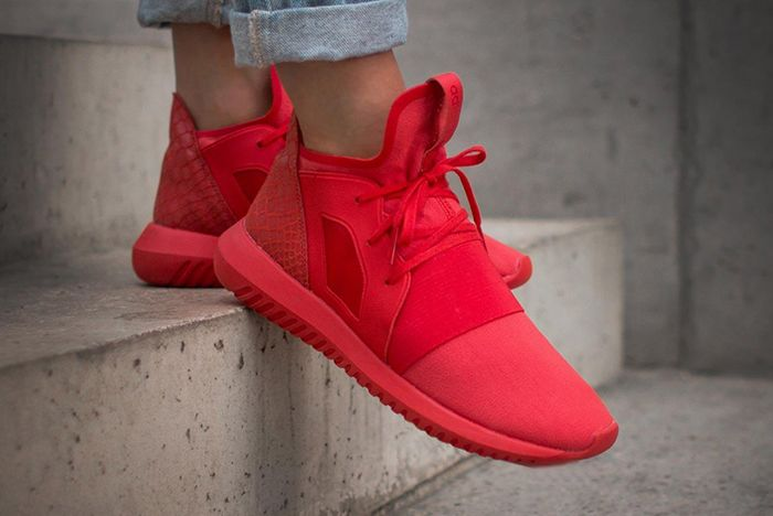 Adidas Tubular Defiant Lush Red2