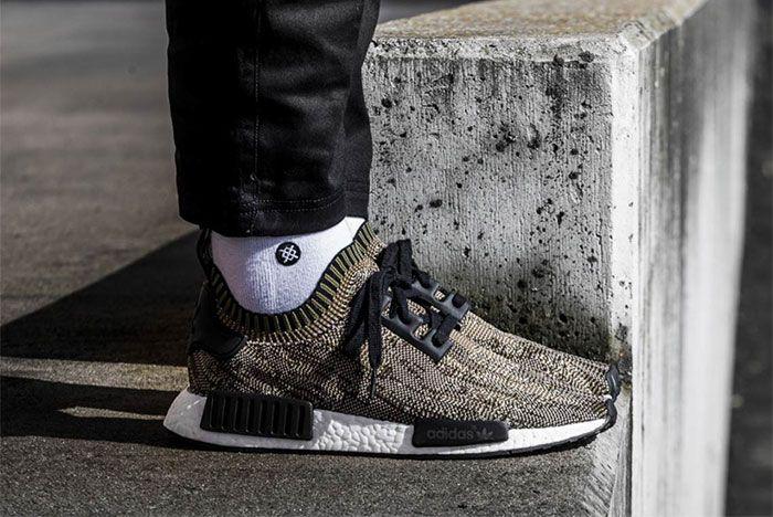 Adidas Nmd R1 Glitch Camo Brown Ba8597 3 Sneaker Freaker