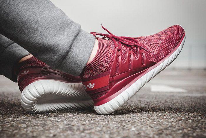 Adidas Tubular Nova Primeknit Mystery Red 3