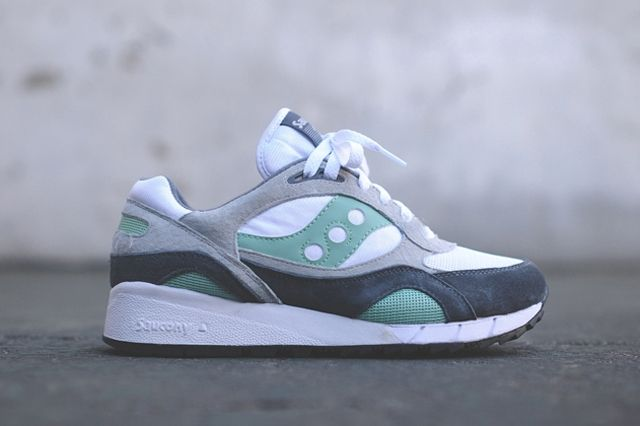 Saucony Shadow 6000 White Mint 2