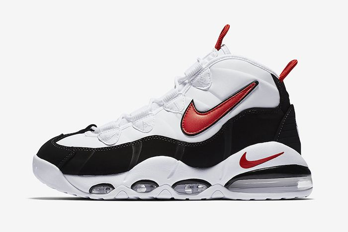 Nike Air Max Uptempo 95 Og White Black Red Ck0892 101 Release Date Lateral