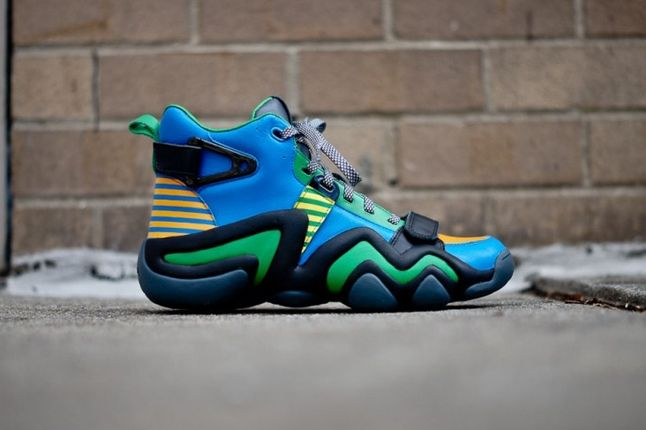 Adidas Opening Ceremony Crazy 8 Tennis Blue Profile 1