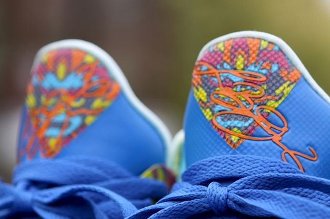 Nike Lebron 9 Custom By Kurtzastan Tongues 1